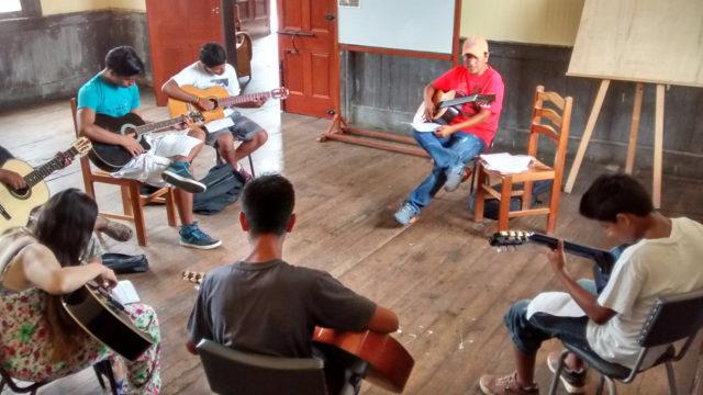 Casa De La Cultura Guitarra