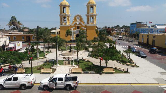 Plaza San Pedro De Lloc