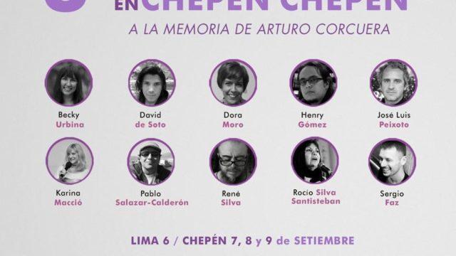 Poetas Festival Poesia Chepen 2017