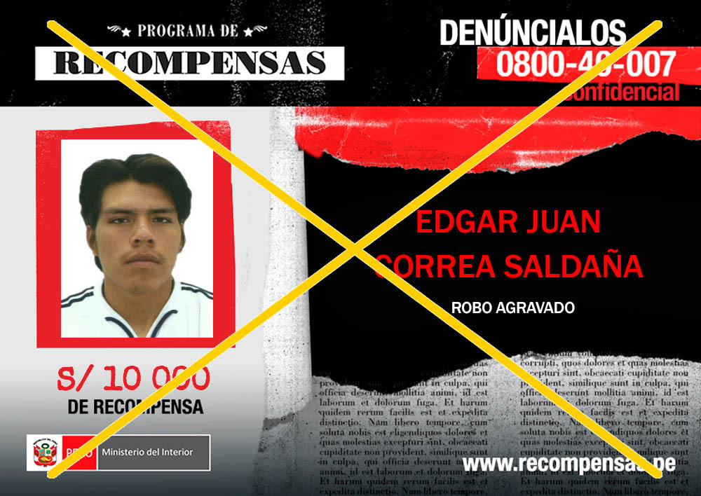 Edgar Juan Correa Saldañ A