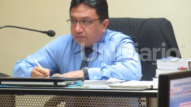 Juez Ernesto Araujo Ramos de Rosas