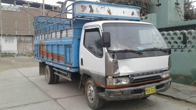 Camion Atropella Y Fuga Chepen 2