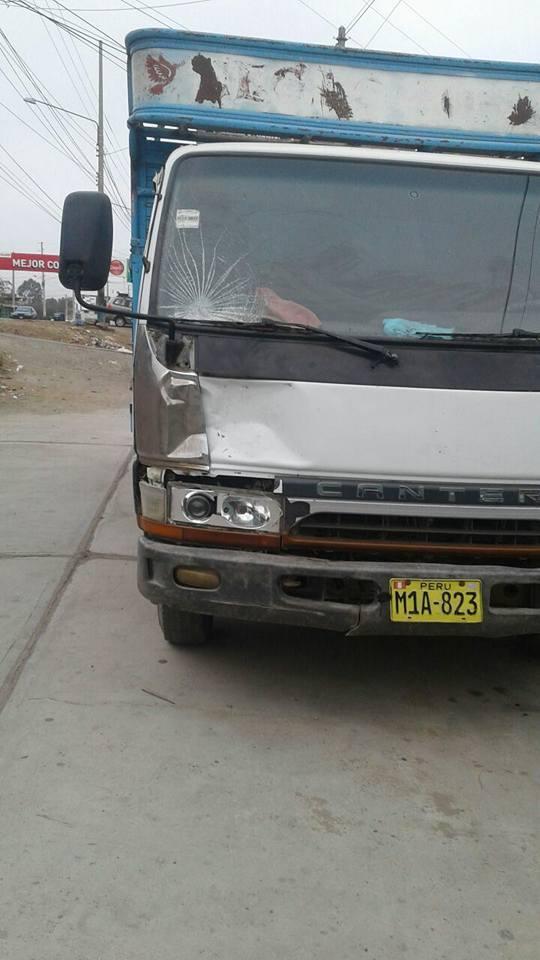 Camion Atropella Y Fuga Chepen