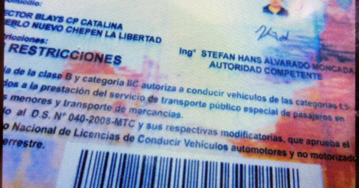 Falsas Licencias de Conducir con Membrete de la MPP Circulan en ...