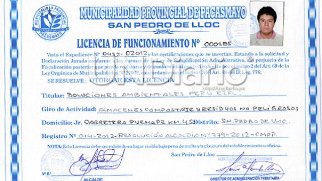 Licencia Bamba