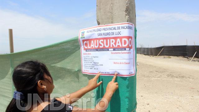 Clausura planta abono soluciones ambientales peru eirl