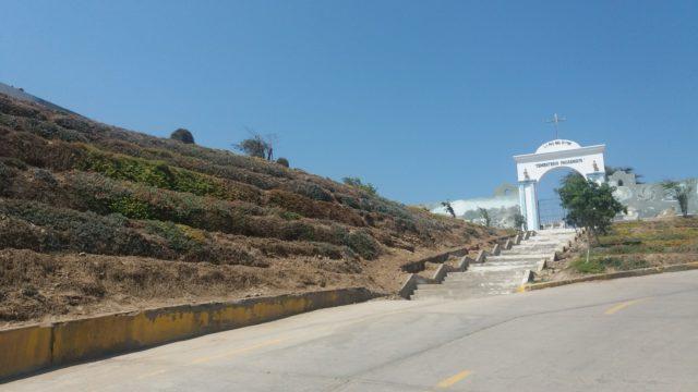 Jardines Paseo Hacia Cementerio Pacasmayo 2