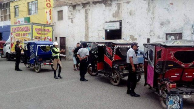 Orden Calles Trafico Pacasmayo