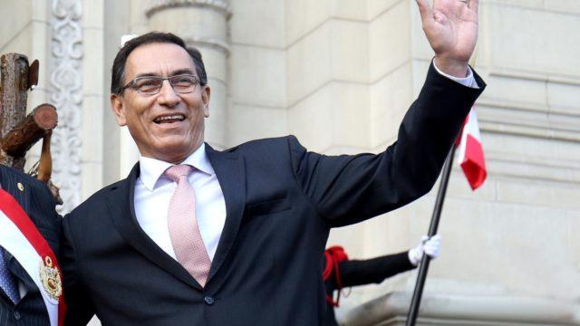 Prensa Presidencia Martin Vizcarra
