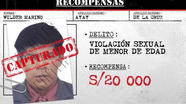 Wilder Marino Ayay De La Cruz