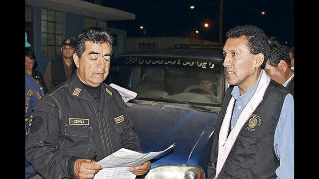 Fiscal Pagaza Y Policia