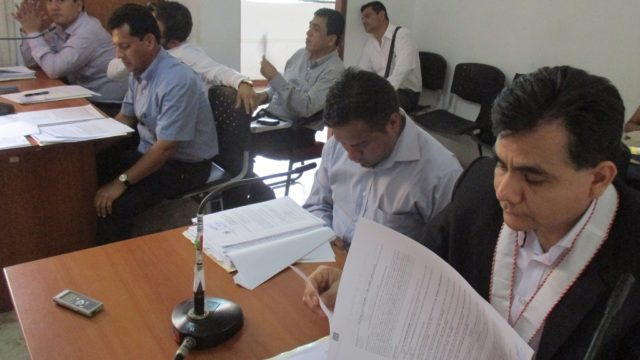 Img 9555  Fiscal Anticorrupción La Libertad Víctor Ricardo Bazán Alagón  Audiencia Elaboración Metrados Mpch 2014  Jipch 2018
