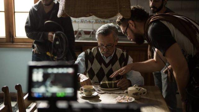 El Abuelo La Pelicula Con Director Saavedra