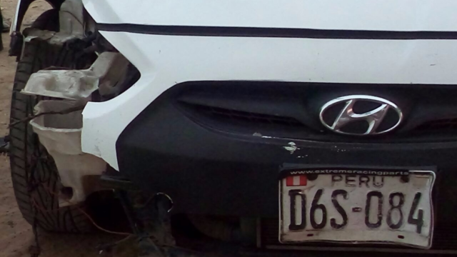 Accidente Hyundai