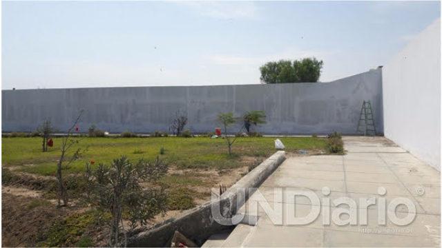 Frontis Cementerio Pacasmayo