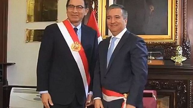 Raul Perez Reyes Ministro Produccion