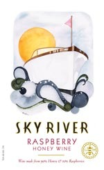 Sky River Raspberry Honey Wine