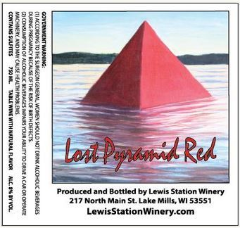 Product Image for Lost Pyramid Red