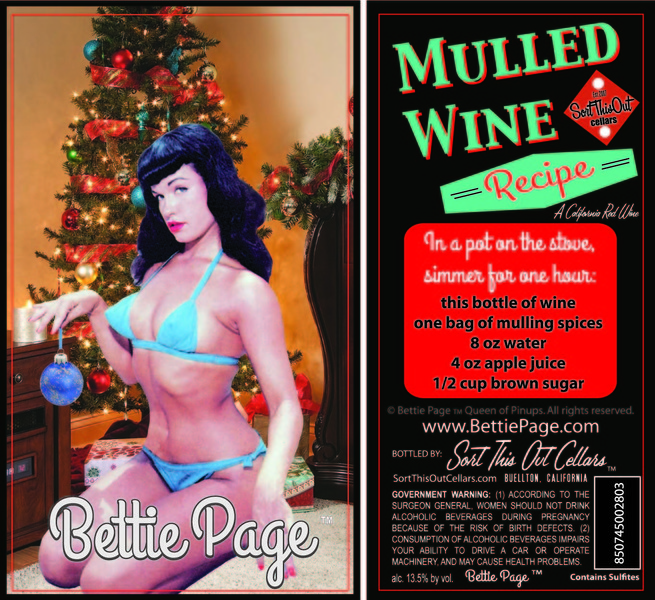 NV Bettie Page Mulled Wine