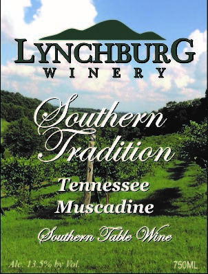 2019 Southern Tradition Tennessee White Muscadine