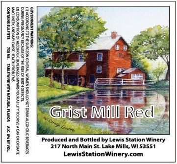 Product Image for Grist Mill Red
