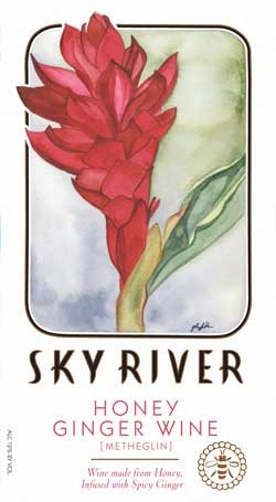 Sky River Ginger Honey Wine