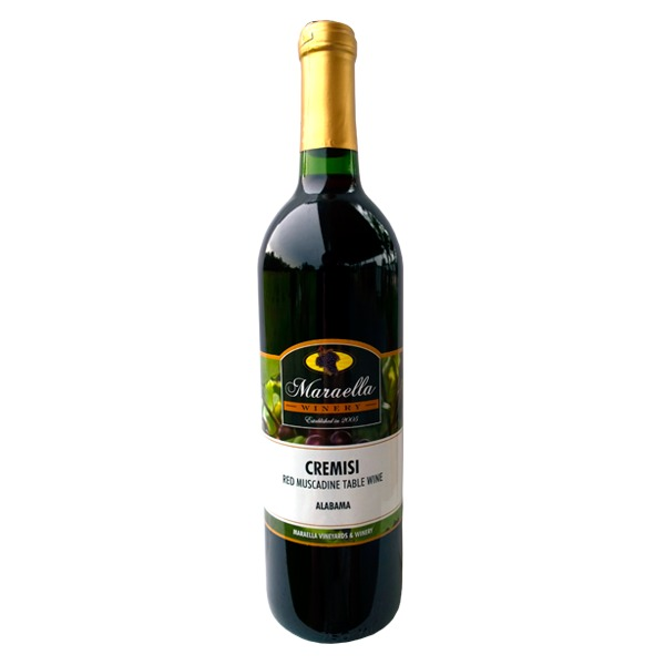 Product Image - Cremisi Red Muscadine Table Wine