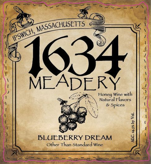 2019 Blueberry Dreams (Blueberry Mead)
