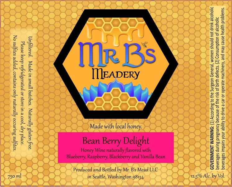 2019 Bean Berry Delight - Sweet Mead