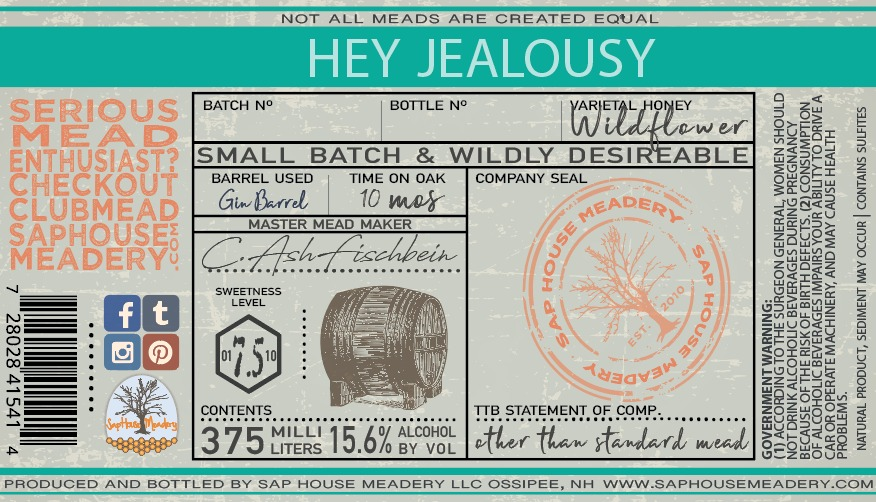 Product Image for Hey Jealousy