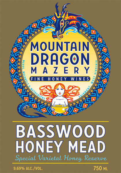 Product Image for NV Basswood Honey Mead - Varietal Honey Special Reserve