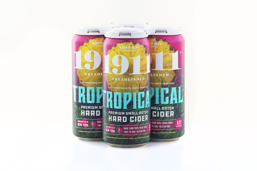 2020 Tropical Hard Cider - 12 x 16oz Cans