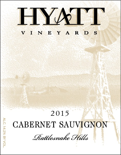 2017 Hyatt Vineyards Estate Cabernet Sauvignon