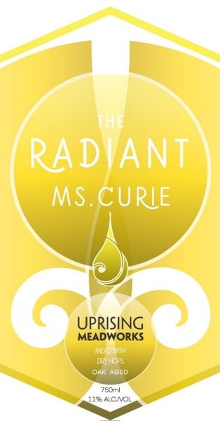 Product Image for 2018 The Radiant Ms. Curie - Mead with Dry Hops, Oak Aged