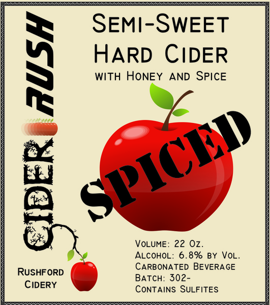 Product Image for 2018 Cider-Rush SPICED