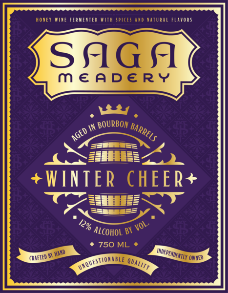 Winter Cheer Aged in Bourbon Barrels