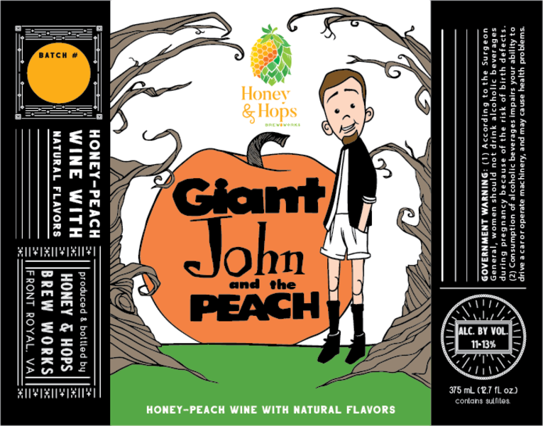 Giant John and the Peach