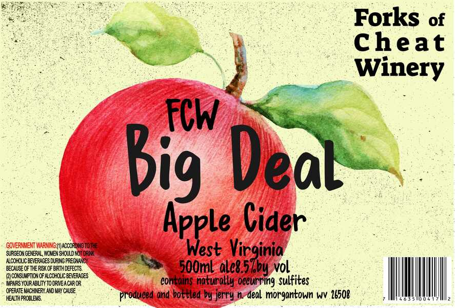 Big Deal Apple Cider