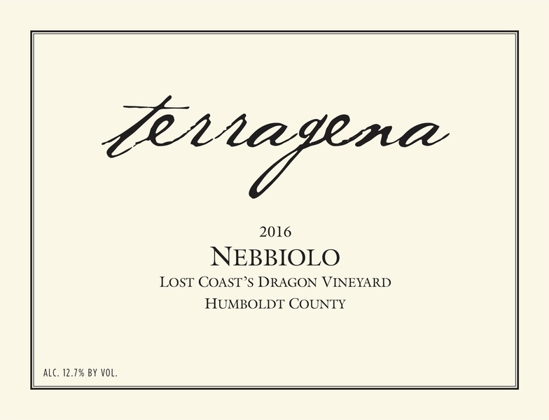 Product Image for 2016 Lost Coast's Dragon Vineyard Nebbiolo