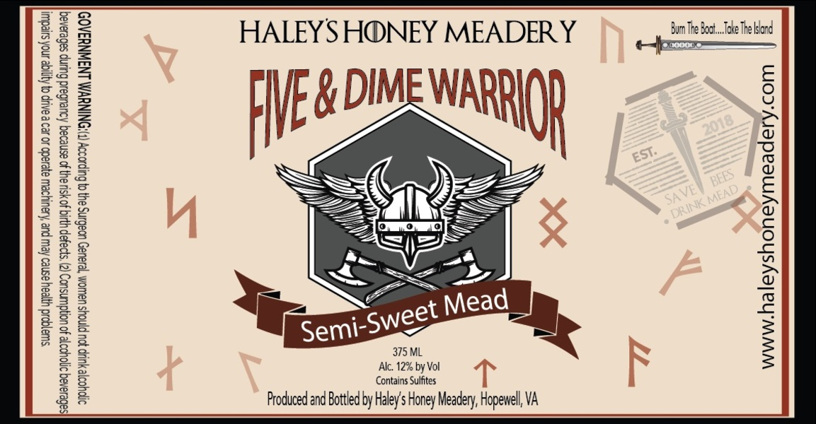Product Image for 2019 Five and Dime Mead