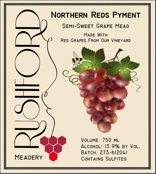 Product Image for 2016 Northern Reds Pyment 750mL