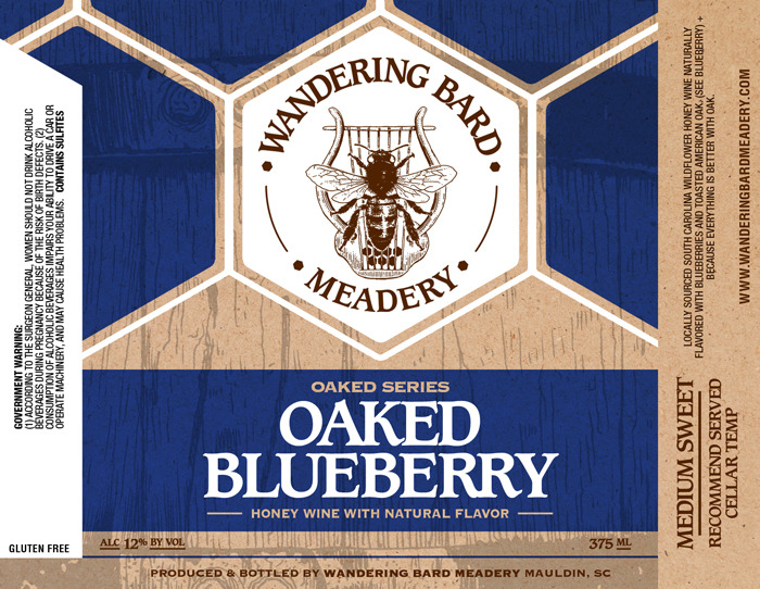 2019 Oaked Blueberry