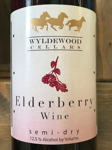 Product Image for 2019 Elderberry Semi-Dry
