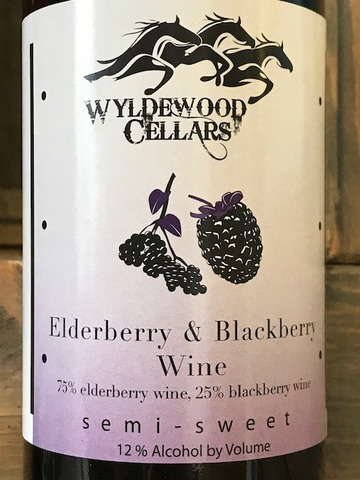 Product Image for 2019 Elderberry & Blackberry Semi-Sweet