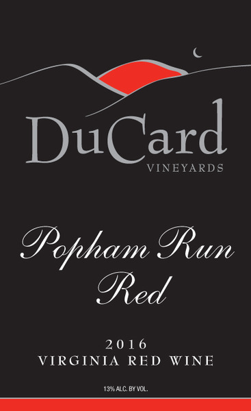 Product Image for 2016 Popham Run Red