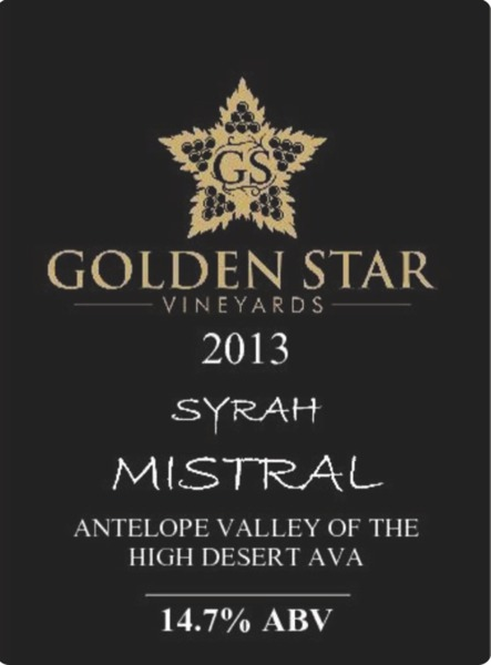 Product Image for 2013 Syrah Mistral