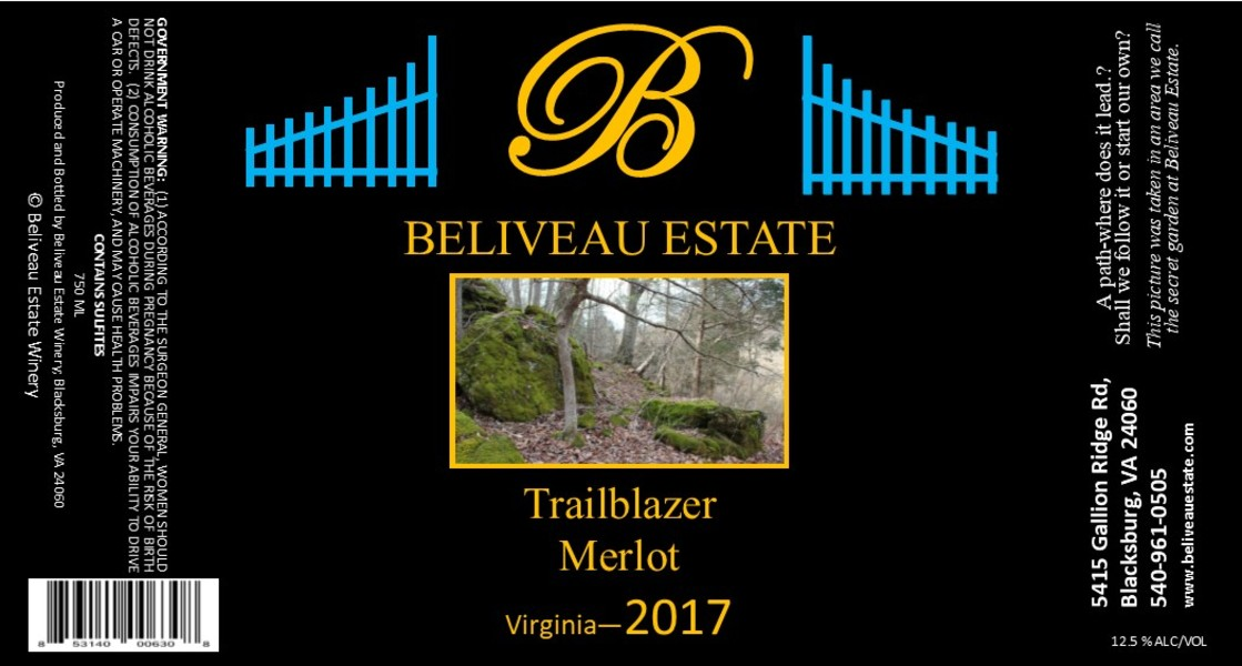 Product Image for 2017 Trailblazer; Merlot