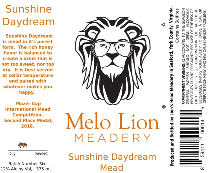 Product Image for 2018 Sunshine Daydream - Mead