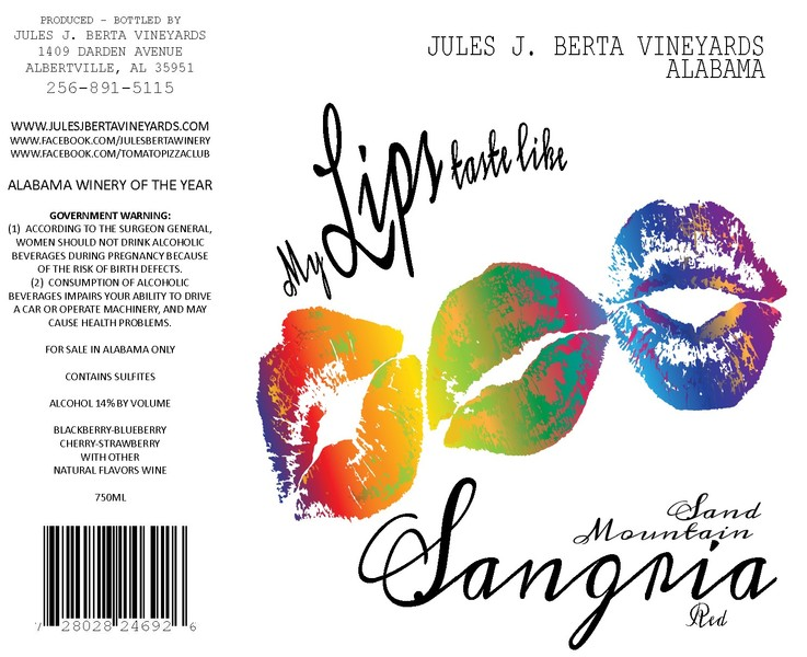 Product Image for Red Sangria
