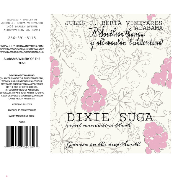 Product Image for Dixie Suga Blush Muscadine